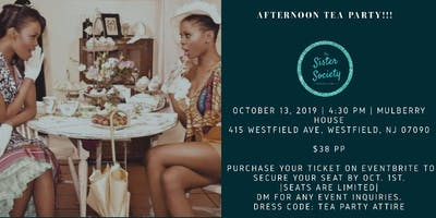 Crowned Sister Society - Afternoon Tea Party