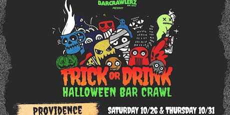Trick or Drink: Providence Halloween Bar Crawl (2 Days) tickets