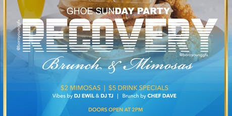 GHOE RECOVERY (Brunch & Mimosa's) tickets