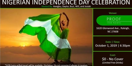 Nigerian's 59th Independence Day Happy Hour tickets