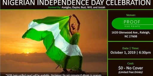 Nigerian's 59th Independence Day Happy Hour