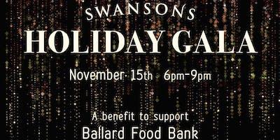 Swansons' Holiday Gala: a Benefit for the Ballard Food Bank