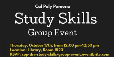 Study Skills Group Event