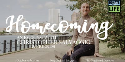 An Evening with Christopher Salvaggio and Friends: Homecoming