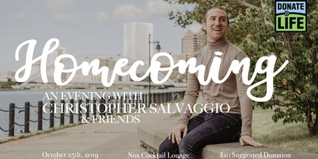 An Evening with Christopher Salvaggio and Friends: Homecoming tickets