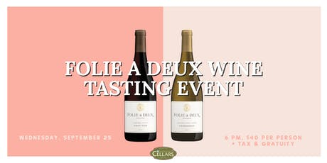 Folie A Deux Wine Tasting Event tickets