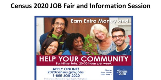 Census 2020 JOB Fair and Information Session