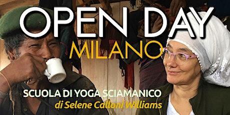 Open Day Scuola di Yoga Sciamanico MILANO biglietti