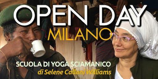Open Day Scuola di Yoga Sciamanico MILANO