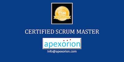CSM (Certified Scrum Master) - Apr 2-3, Santa Clara, CA