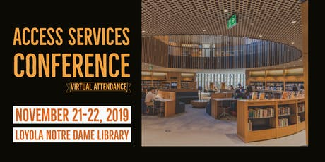 Access Services Conference tickets