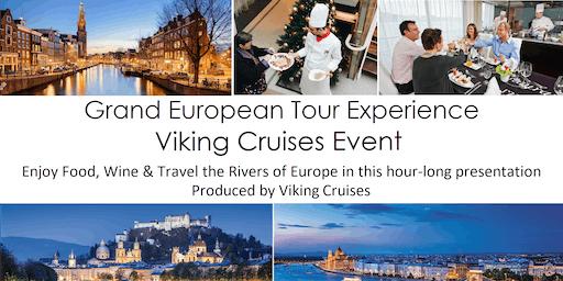 Grand European Tour Experience Viking Cruise Event