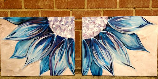 Blue Daisies Paint Night