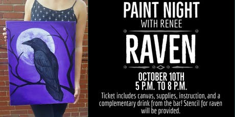 Paint Night With Renee: Raven tickets