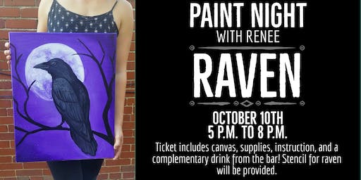 Paint Night With Renee: Raven