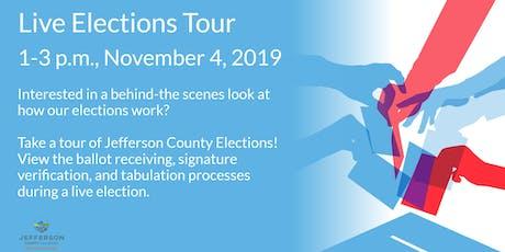 Live Elections Tour tickets