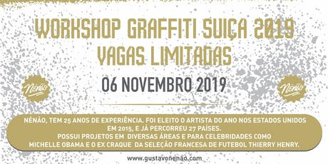 Workshop  Graffiti  Suíça 2019 billets