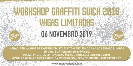 Workshop  Graffiti  Suíça 2019