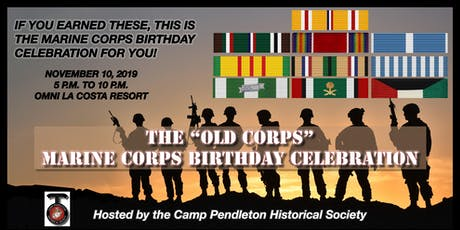 """Old Corps"" Marine Corps Birthday Celebration tickets"
