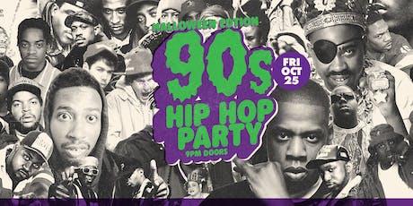 90s Hip Hop Halloween Edition tickets