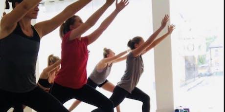 vinyasa yoga Moorgate - £1 session tickets
