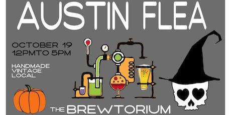 The Austin Flea at the Brewtorium in October tickets