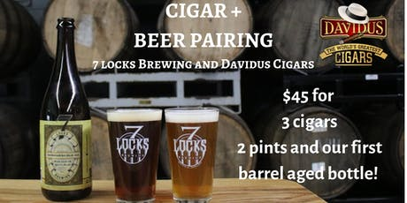 Cigar and Beer Pairing tickets