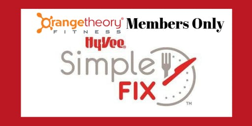 PRIVATE Orangetheory Simple Fix Meal Prep Workshop - October