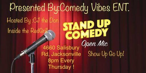 COMEDY OPEN MIC NIGHT JACKSONVILLE !