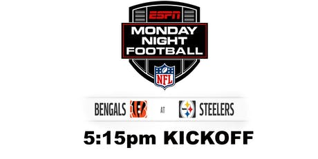 Monday Night Football: CIN v PIT tickets