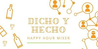 Copy of Dicho y Hecho Happy Hour Club