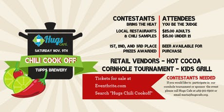 Hugs Cafe Chili Cookoff tickets