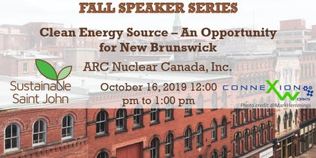 Clean Energy Source – An Opportunity for New Brunswick tickets