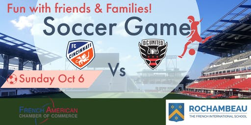 Soccer Game- Cincinnati Vs DC United