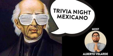 Trivia Night Mexicano tickets