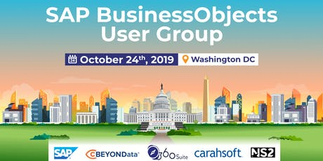 SAP BUSINESSOBJECTS USER GROUP WASHINGTON DC tickets