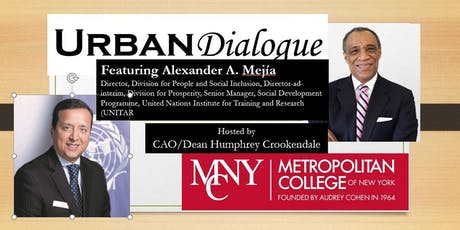 MCNY URBAN DIALOGUE  FEATURING ALEXANDER A. MEJIA tickets