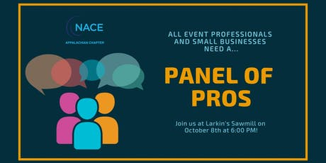 Panel of Pros - WHO you need to know & WHAT you need to know tickets