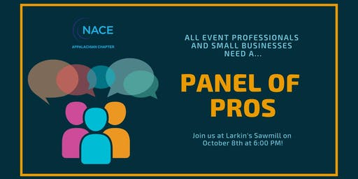 Panel of Pros - WHO you need to know & WHAT you need to know