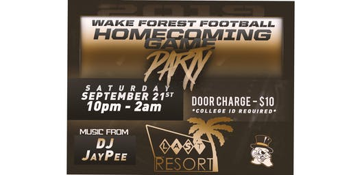 Last Resort Homecoming Party