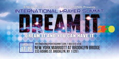 International Prayer Summit 2020: DREAM IT tickets