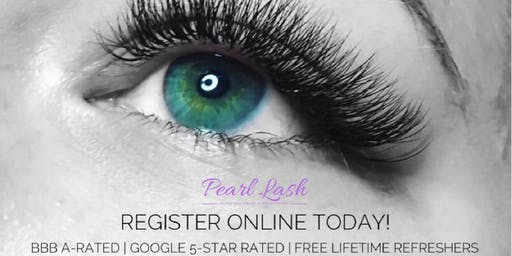 Eyelash Extension Training Hosted by Pearl Lash Tallahassee, FL - SOLD OUT