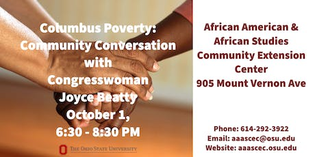 Poverty: Community Conversation with US Congresswoman Joyce Beatty tickets