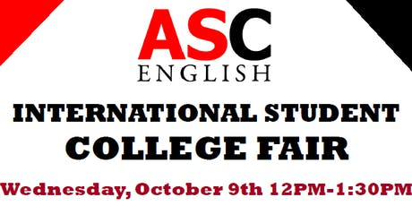 International Student College Fair tickets