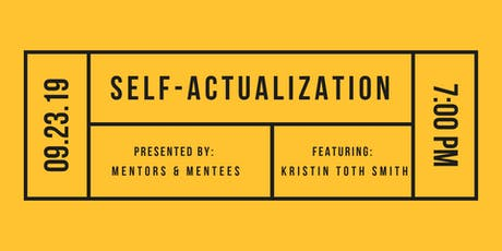 Self Actualization : Realizing your Potential tickets