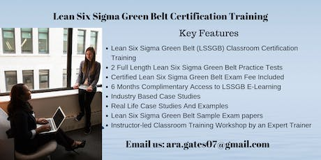 LSSGB Certification Course in Chico, CA tickets