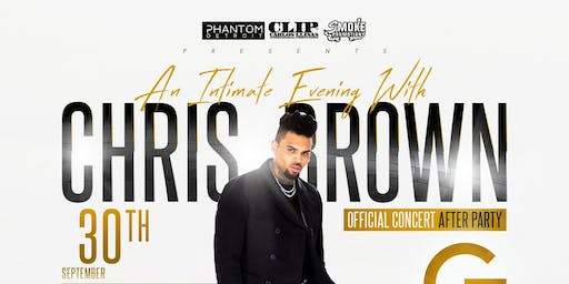Official Indigoat Concert After Party Featuring Chris Brown