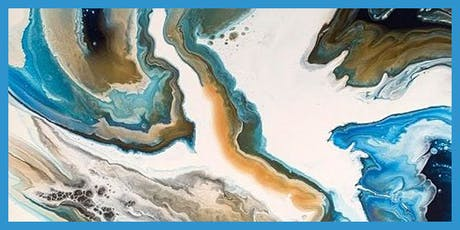 Advanced Acrylic Pour Class with Theresa Robertson tickets