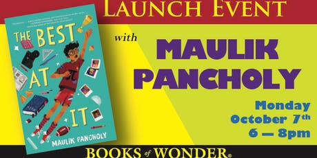 Launch Event for THE BEST AT IT by Maulik Pancholy! tickets
