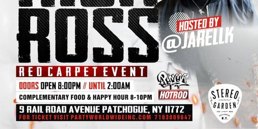 Rick Ross Album Release Party x Host By Jarell K